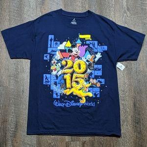Walt Disney World Parks 2015 Tee Shirt T-shirt